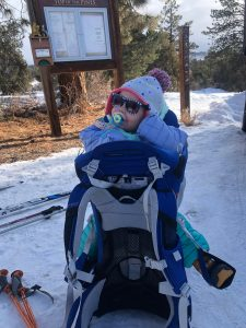 Osprey Poco Plus with daughter