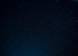 stars out while running at night