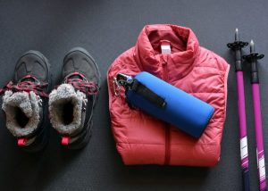 Hiking clothing for short hikes