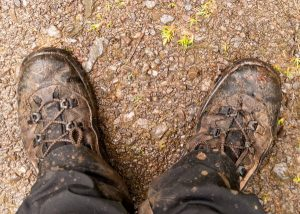 hiking shoes for mud