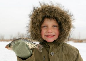 keeping hands warm while ice fishing