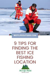 How to find the best ice fishing location
