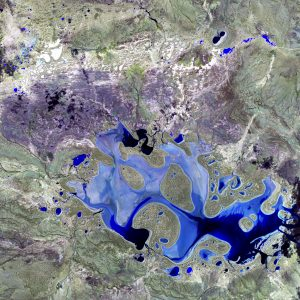 Study Topography of the lake